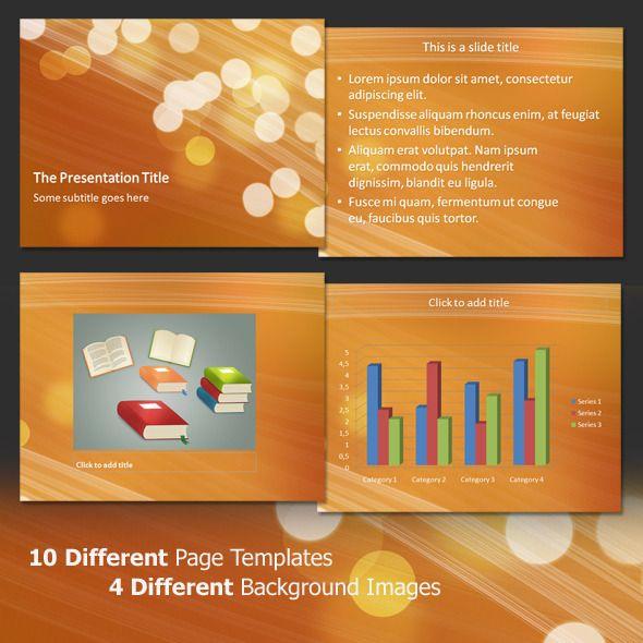 Light Bubbles - Professional PowerPoint Template
