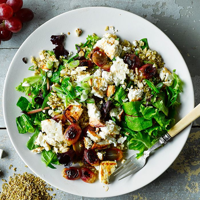 A quick and easy Freekeh, Feta & Roast Grape Salad recipe, from our authentic Lebanese cuisine collection. Find brilliant recipe ideas and cooking tips at Gousto