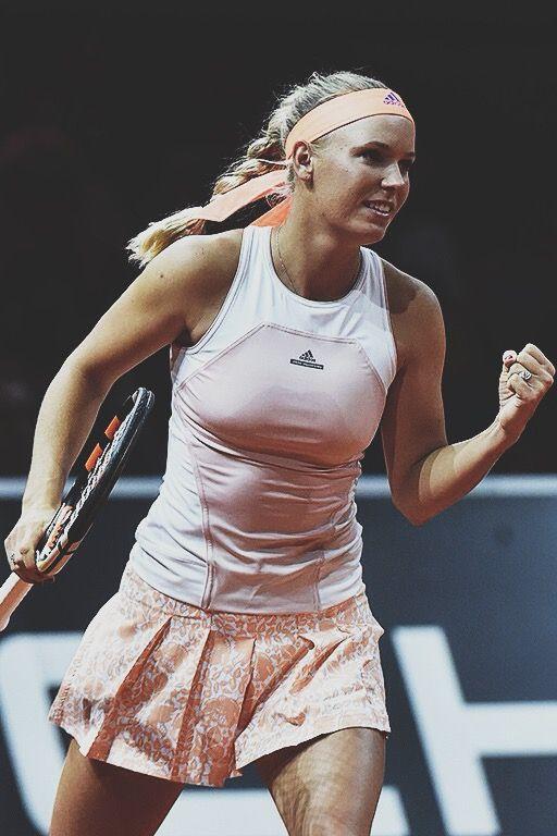 Caroline Wozniacki playing in Stuttgart 2015 #WTA #Wozniacki #Stuttgart