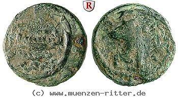 RITTER Phönizien, Sidon, Strato I., Galeere, Persischer Großkönig #coins