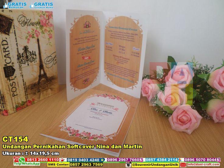 Undangan Pernikahan Softcover Nina Dan Martin | Souvenir Pernikahan