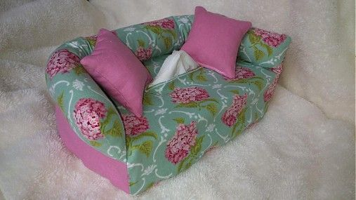 Wesega / Orgován a ružová-dekoračný obal na papierové vreckovky