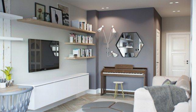 mbel-grau-streichen-ideen-wohnzimmer-streichen-graue-wandfarbe-wei-e - wohnzimmer streichen grau ideen
