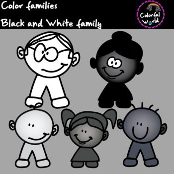 Black and White family