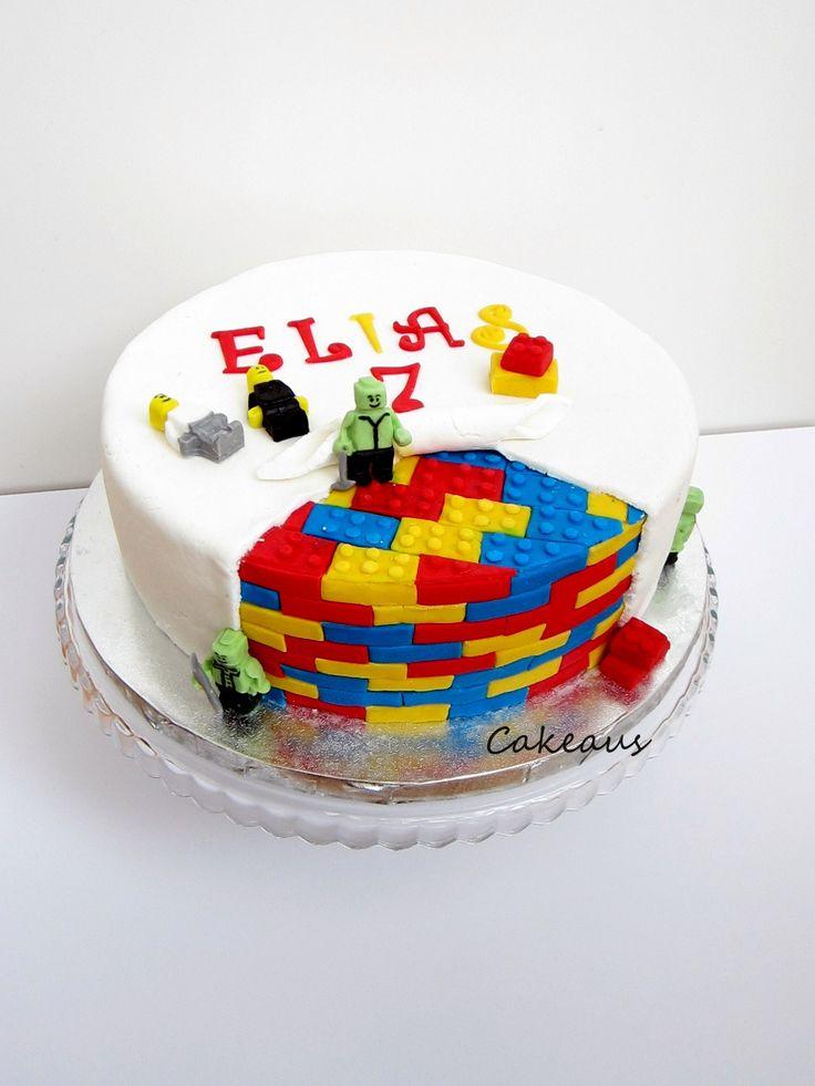 Legokakku, legocake