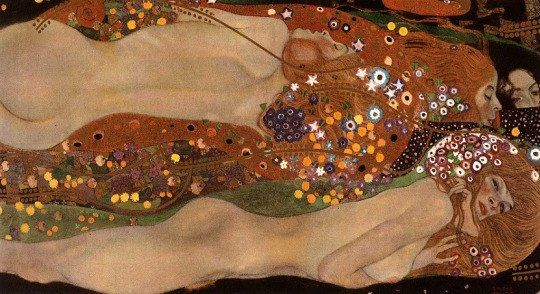 Gustav Klimt, Water Serpents II, 1907
