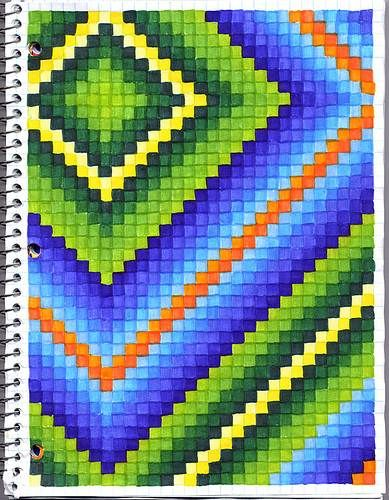 The SmARTteacher Resource: Graph Art....for Those Kids Who Finish Their  Making Graph Paper In Word