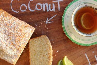 Cosset's coconut lime loaf