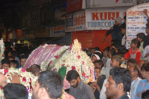 Imam Hussains Taboot at Bandra East