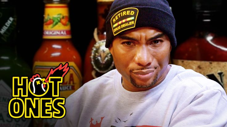 #goodfood Watch Charlamagne Tha God Take on the Hot Ones Challenge #foodie