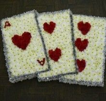 unusual funeral tributes - www.moragsflowers.co.uk