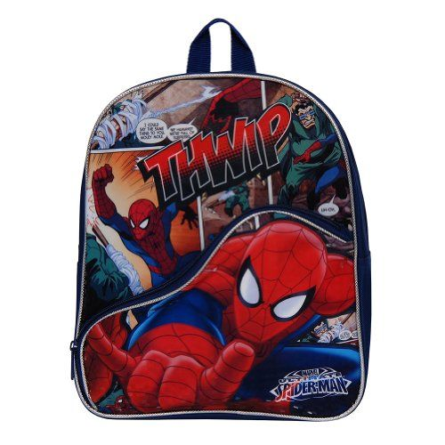 Marvel Spiderman 12 inch Boys Backpack * Find out more about the great product at the image link.