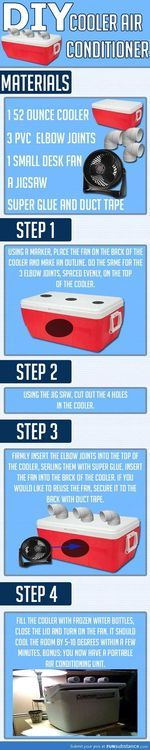 How to make your own cooler air conditioner - FunSubstance.com on imgfave