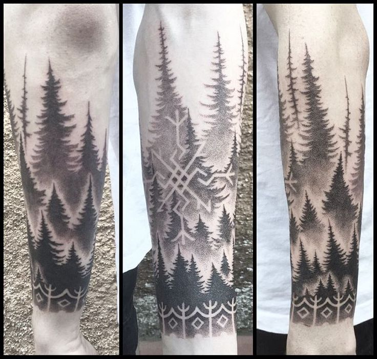 Image result for norse forest tattoo