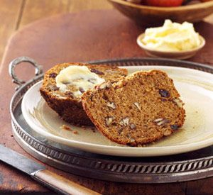 and yogurt help keep this whole grain quick bread moist. The bread ...