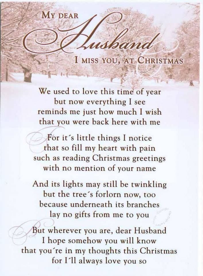 Missing My Husband At Christmas Quotes: Heritage Funeral Homes, Crematory And Memorial Parks