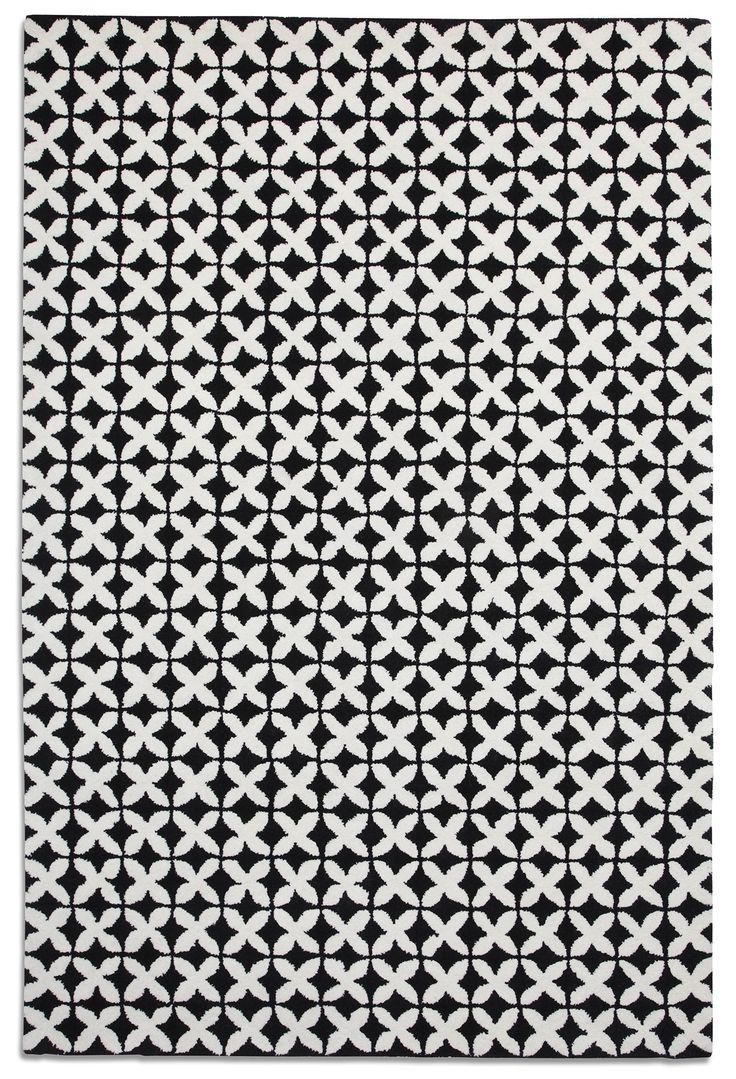 Preston Rugs Geometric Rug GEO03 £250 150x230.  Monochromatic