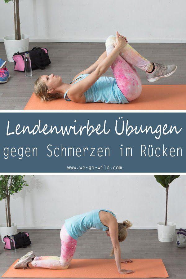9 Lendenwirbel Übungen gegen Schmerzen im unteren Rücken – Bernadette Blasig