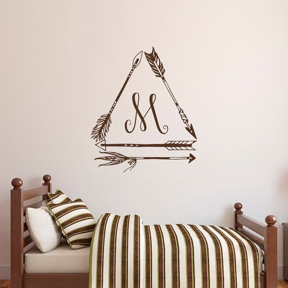 Best Monogram Wall Decals Images On Pinterest Monogram Wall - Monogram wall decal for kids