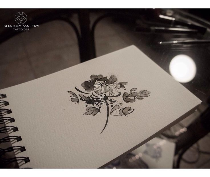 Botanical tattoo for girls. #flowers #valerysharay