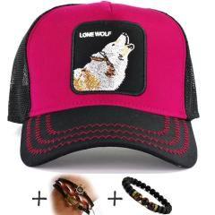 LONE WOLF Yalnız Kurt Şapka Kamuflaj Cap Erkek Bayan