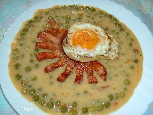 Rozi erdélyi,székely konyhája: Zöldborsó főzelék