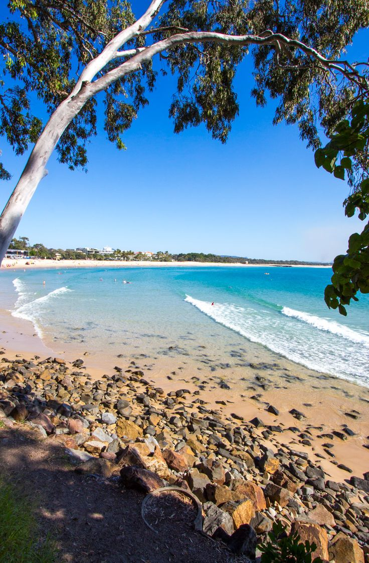 Noosa Main Beach - Sunshine Coast, Queensland, Australia