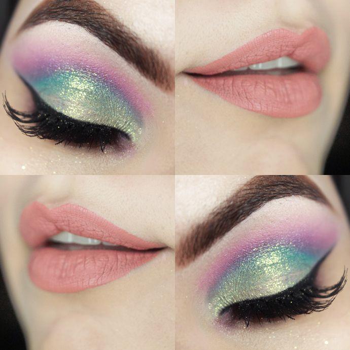 Candy Coloured makeup/                                                                                                                                                                                 Mais