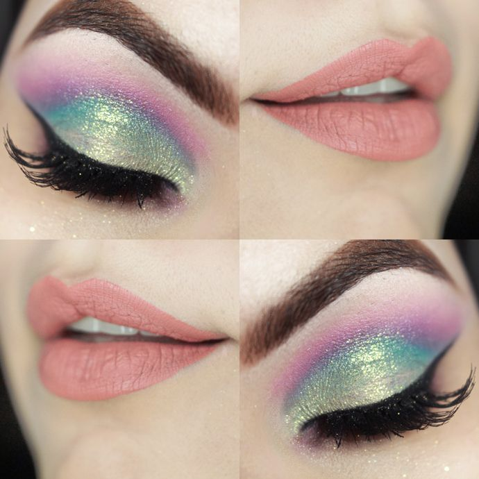 Candy Coloured makeup/                                                                                                                                                                                 Mais