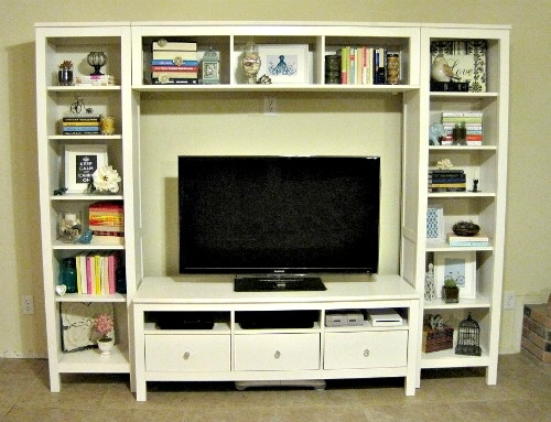IKEA Entertainment Center - Also comes in gray/brown & brown/black.