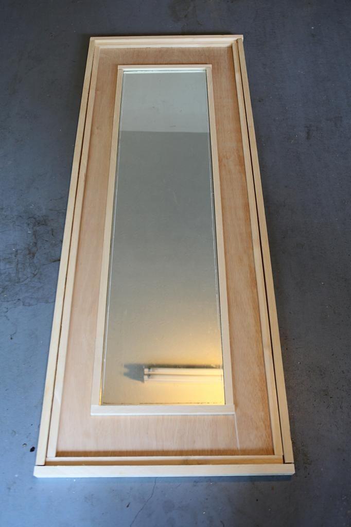 Mirror diy mirror and floor mirrors on pinterest for Mirror framed floor mirror