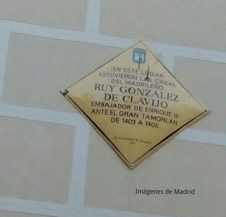 Ruiz González Clavijo en la Costanilla de San Andrés