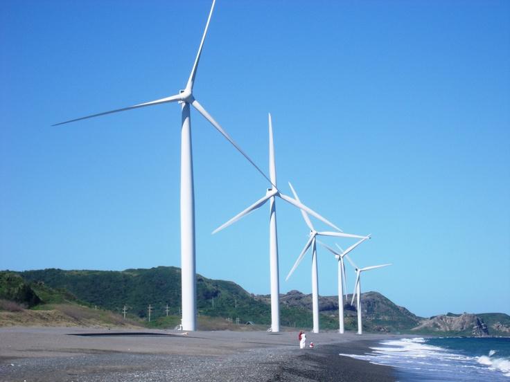 bangui windmills.. | ilocos norte, philippines | Pinterest
