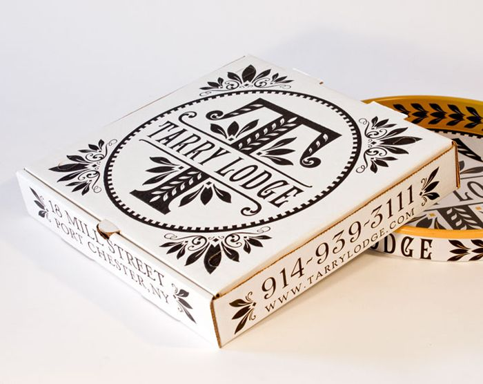Branding and packaging for ecclectic Italian Tarry Market designed by New York-based Memo.