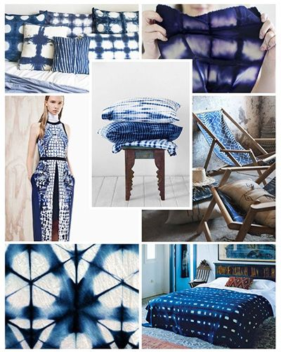 Trendy barva pro interiérové dekorace 2016 - Modá Indigo