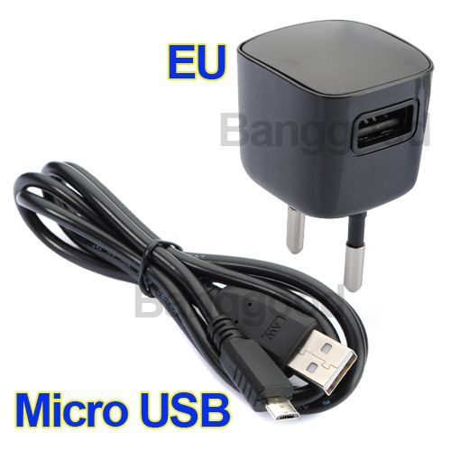 Charger Adapter +USB Cable For Blackberry 9800 HTC LG #Usb