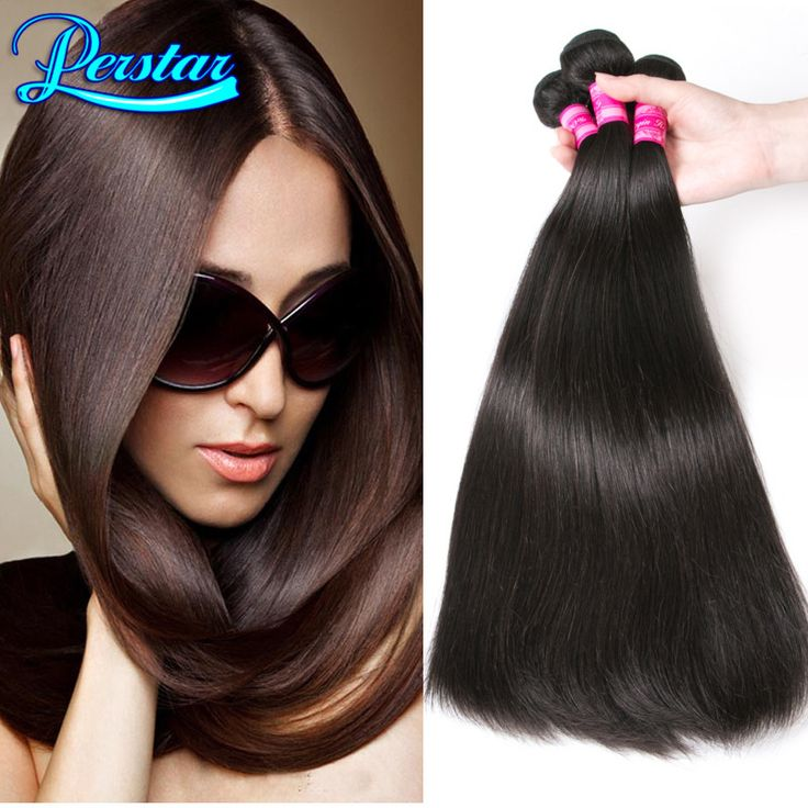 2 Bundles Brazilian Straight Hair Weave 7A Brazilian Virgin Hair Straight Bundles Cheap Human Hair Extension With Free Shipping