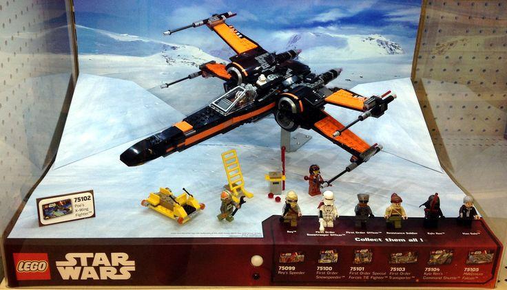 https://flic.kr/p/z3NtLi Lego - Target Display Target Lego Star Wars Display of 75102 Poe's X-Wing Fighter
