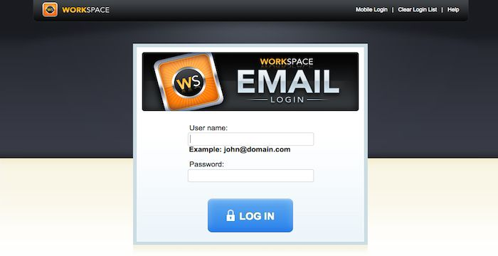 GoDaddy email login comes in a few options