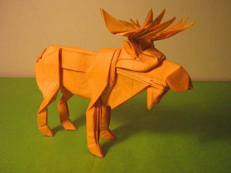 origami deer head instructions