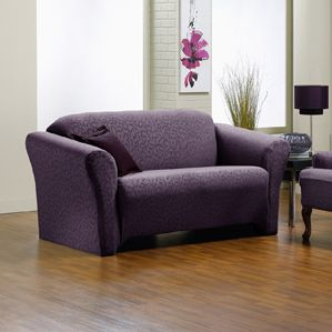 1000 Images About Purple Aubergine Furniture Slipcovers Fresca Hanover On Pinterest Home