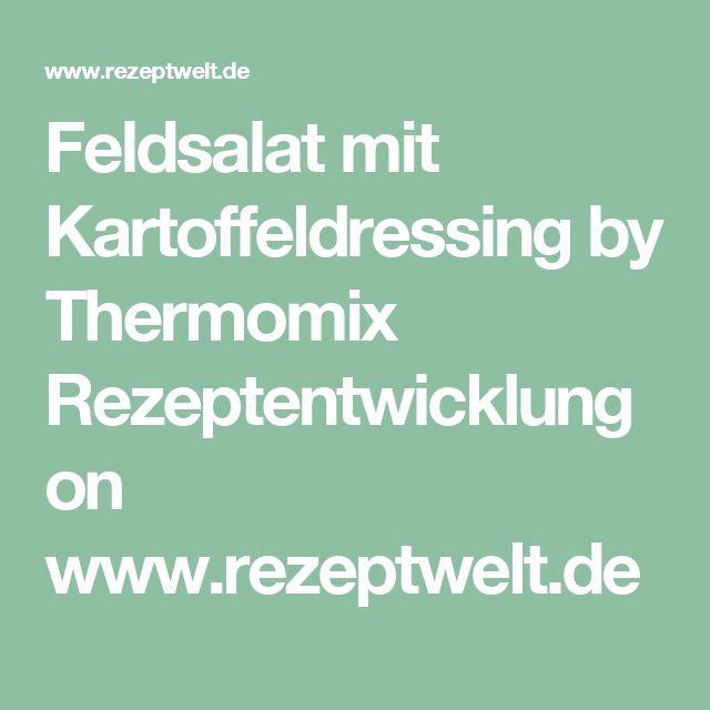 Feldsalat mit Kartoffeldressing by Thermomix Rezeptentwicklung on www.rezeptwelt.de