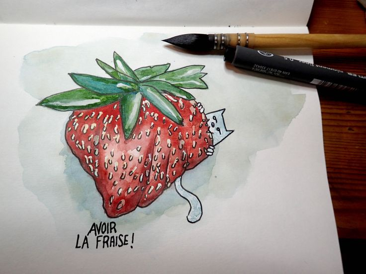 6. Fruit Avoir la fraise! https://www.facebook.com/madincrok  #dcaout