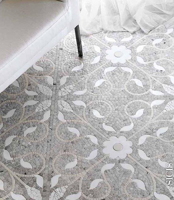 Moroccan Mosaic Tile Bathroom