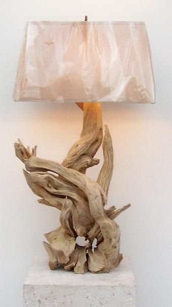 this drift wood lamp base is really cool. I want some twisty wood. Mom or Dad, any chance Cornelius is still lying around your yard??