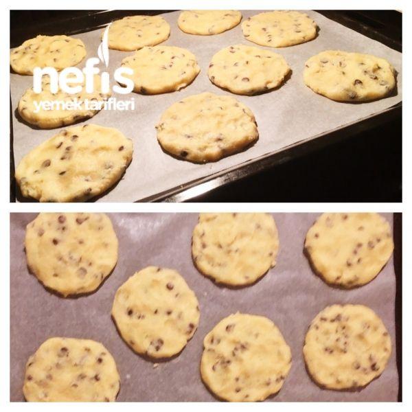 Amerikan Kurabiyesi (damla Çikolatalı Cookies)