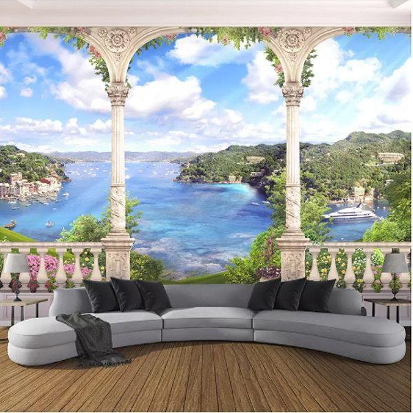 Wall Mural Landscape Countryside Nature Repositionable Vinyl Interior Art Decor