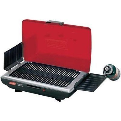 Camping BBQs and Grills 181388: Coleman 2000004119 Portable Grill Red And Black 1 Burner -> BUY IT NOW ONLY: $130.74 on eBay! http://grillsidea.com/best-electric-grills/