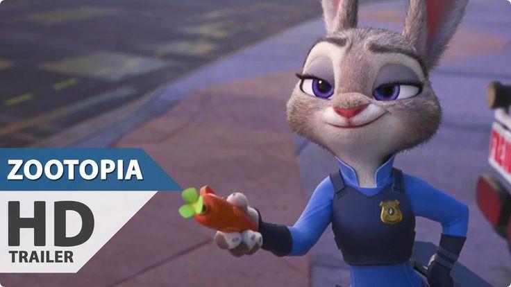 Zootopia Trailer 4 (2016) Jason Bateman, Shakira Disney Animation Movie HD