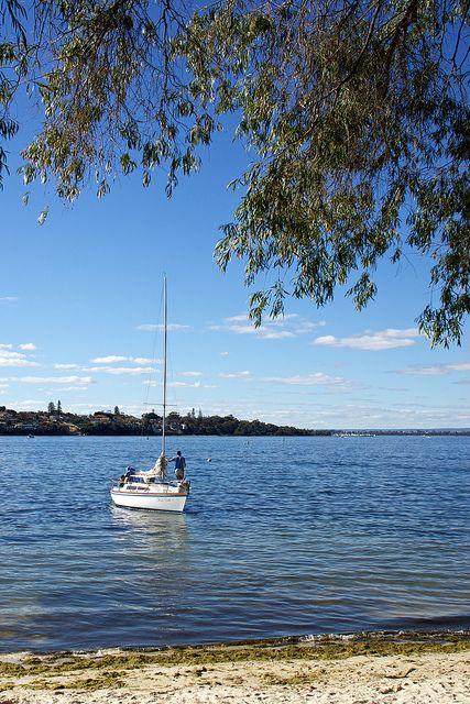 Swan River    Bicton, Perth, Western, Australia